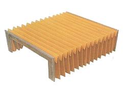 柔性風琴式導軌防護罩